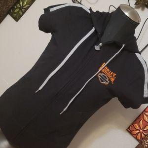 NWT Small or medium harley davidson zip up jacket